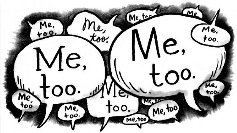 I'm just another #metoo by Anon.