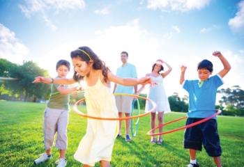 10 ways to get active with your kids