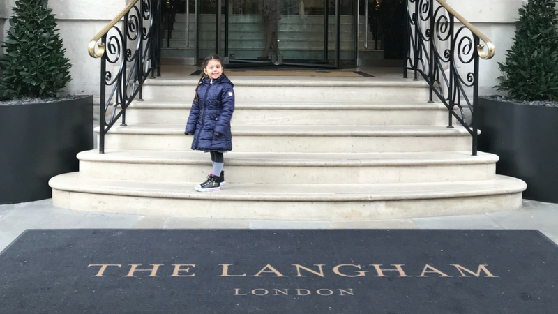 Our Staycation at The Langham London