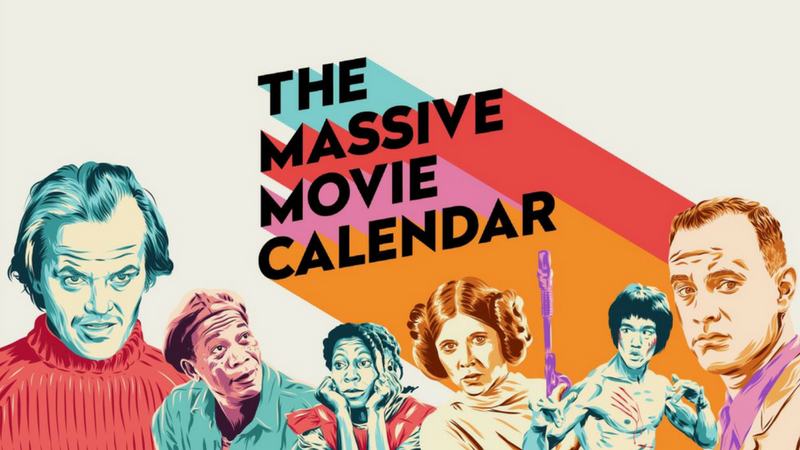 The Massive Movie Calendar