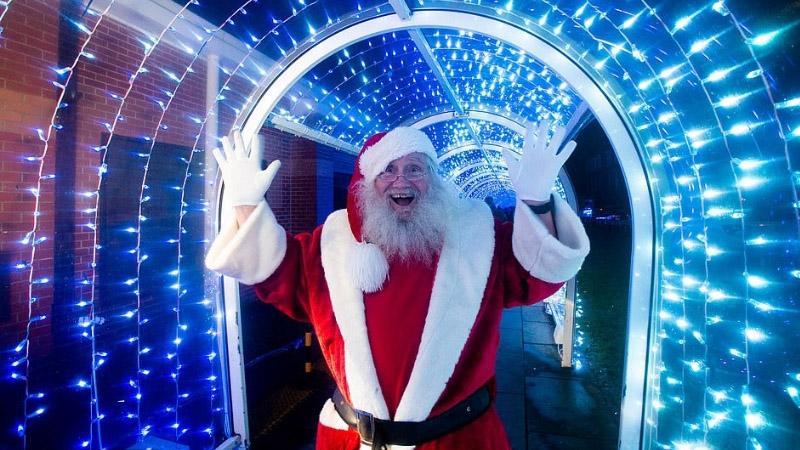 A Magical Christmas at Sainsburys, Bude Tunnel